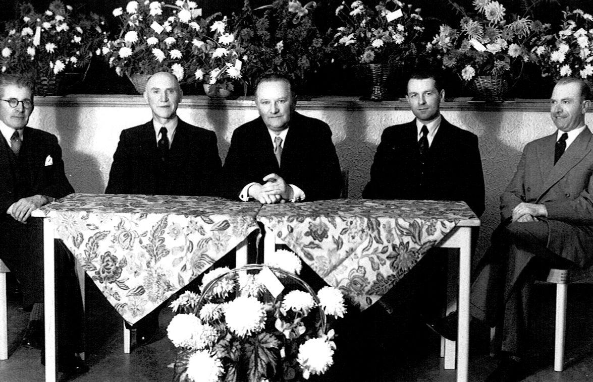 Bestuur nut 1955